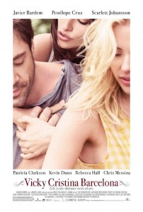 Vicky Cristina Barcelona one-sheet