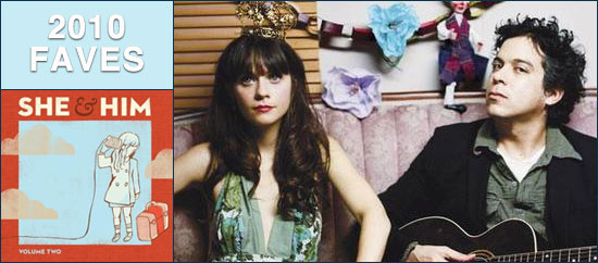 2010 in Music: #13 She & Him – Volume Two
