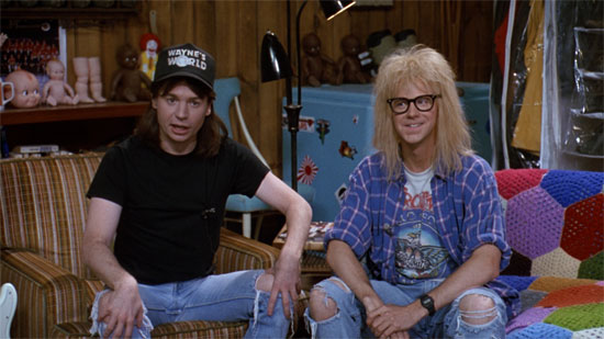 He Says, She Says: Wayne's World