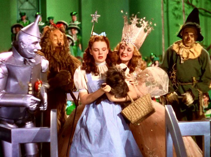 Two Complaints About The Wizard of Oz
