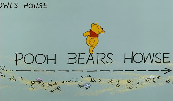 "Christopher Robin only sometimes knows how to spell ""howse."""
