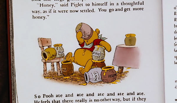 Pooh clearly needs an intervention.