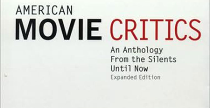American Movie Critics: The Introduction (Phillip Lopate)
