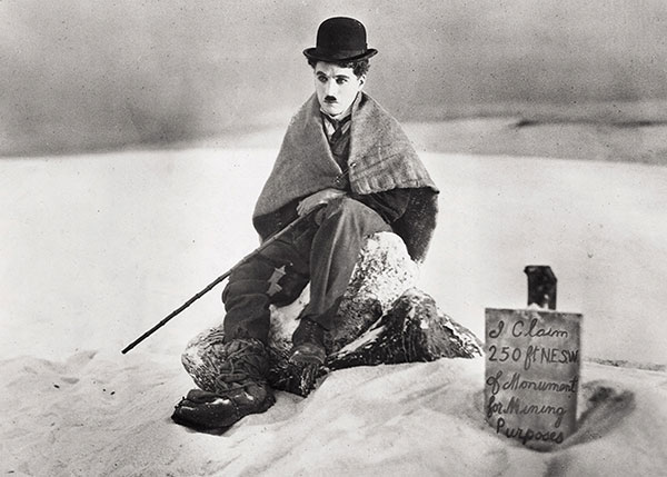 Charlie Chaplin in The Gold Rush (1924)
