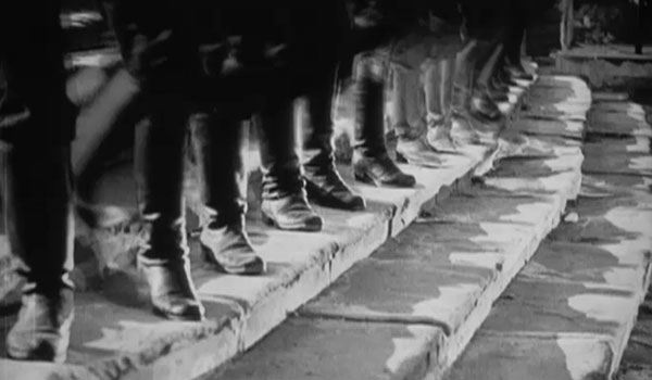 The Odessa Steps sequence of Potemkin, a major example of montage theory in practice, with an average shot length of around 3 seconds.