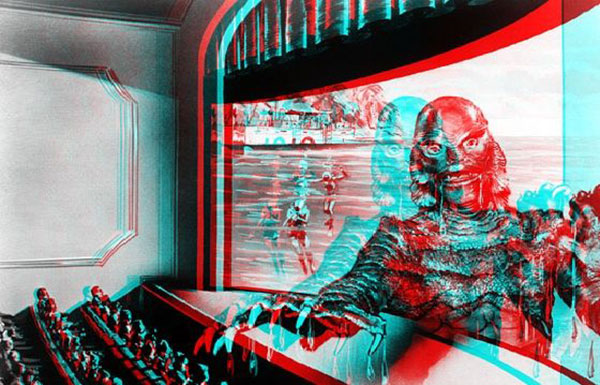 Maybe The Creature from the Black Lagoon in 3D is the killer app?