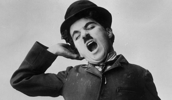 Charlie Chaplin's famous Tramp character