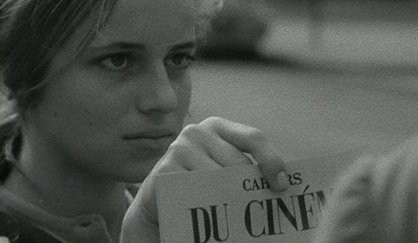 The influential Cahiers du cinema.