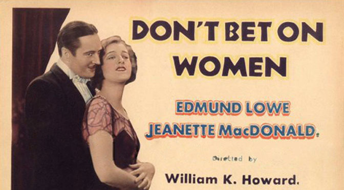 TCM Film Fest 2015: Don't Bet on Women
