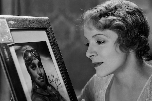 Helen Hayes waits for Clark Gable in Night Flight (1933).