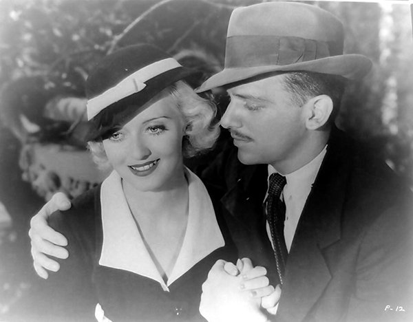 Bette Davis and Douglas Fairbanks Jr in Parachute Jumper (1933)